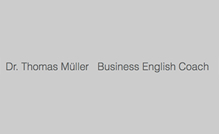 BUSINESS ENGLISH Dr. Müller